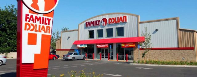 Family Dollar building